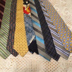 Men's Tie Bundle (10 Ties, 1 Low Price)